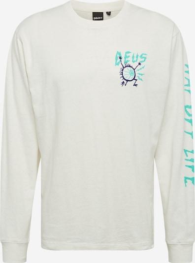 DEUS EX MACHINA Koszulka w kolorze turkusowy / białym, Podgląd produktu
