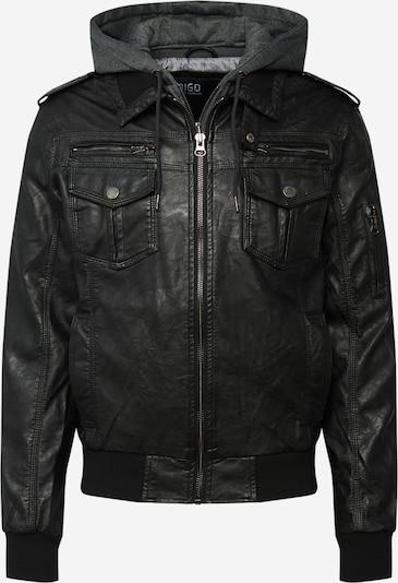 INDICODE JEANS Prijelazna jakna 'Aaron' u tamo siva / crna, Pregled proizvoda