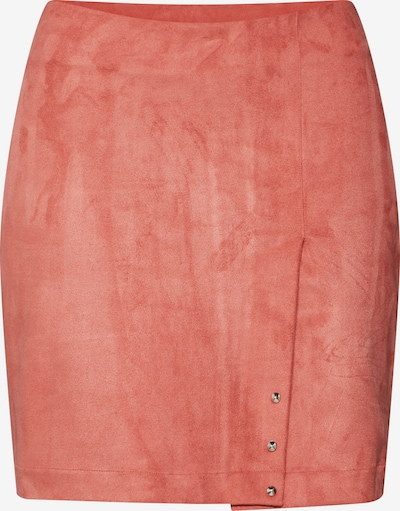 Pop Copenhagen Rock 'Peach Skin Mini Skirt' in orange, Produktansicht
