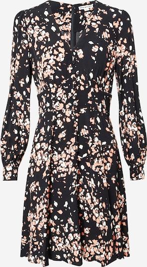 Whistles Jurk 'MOTTLED ANIMAL BUTTON DRESS' in de kleur Rosé / Zwart, Productweergave