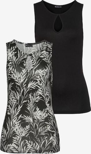 LAURA SCOTT Top in schwarz / weiß, Produktansicht
