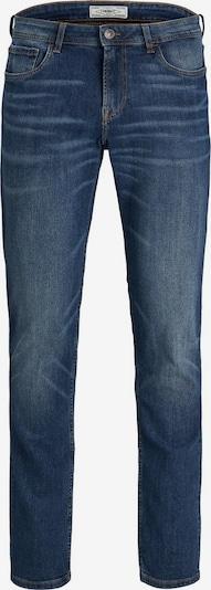 Produkt Klassische Slim Fit Jeans in blau, Produktansicht