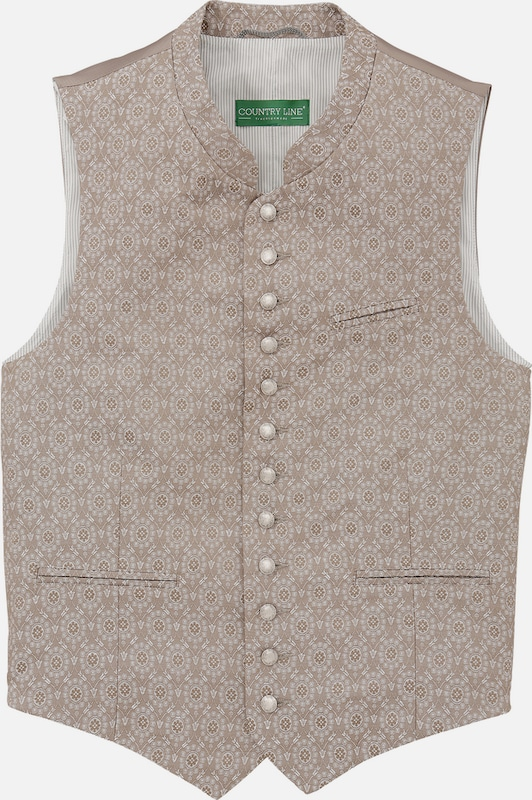 Country Line Trachtengilet Men With Subtle Muster