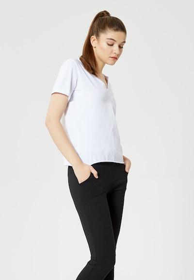 TALENCE T-shirt en blanc: Vue de face