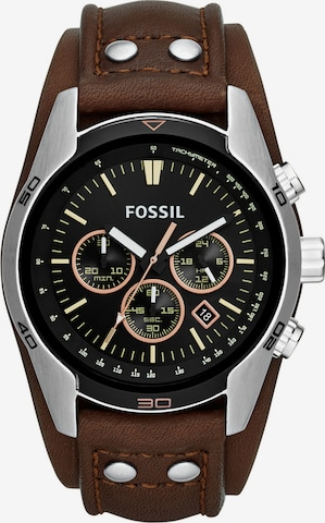 FOSSIL Analog Watch 'COACHMAN CH2891' in Brown