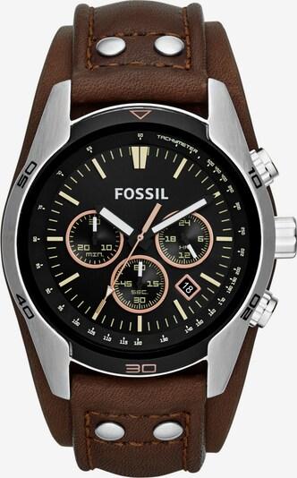 "FOSSIL Chronograph, ""COACHMAN, CH2891"" in braun / silber, Produktansicht"