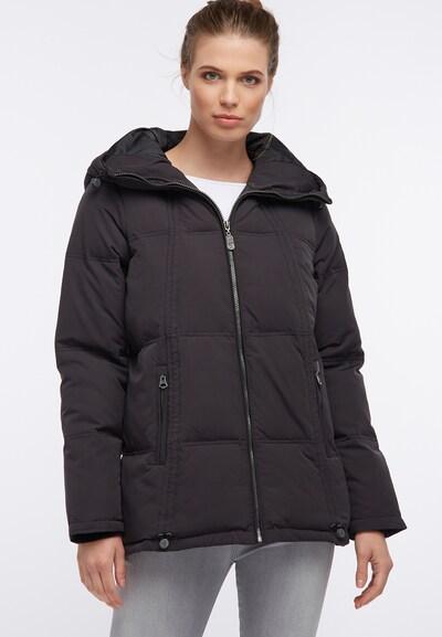 DREIMASTER Veste d'hiver en noir: Vue de face