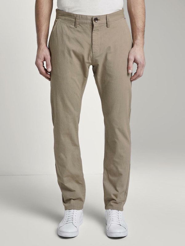 TOM TAILOR Chino in beige: Frontalansicht