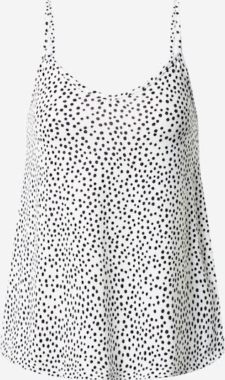 Boohoo Top 'Cami' in schwarz / weiß, Produktansicht