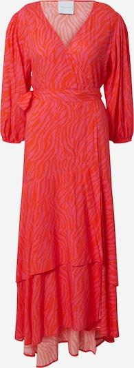 DELICATELOVE Jurk 'Vou Zebra' in de kleur Pink / Knalrood, Productweergave