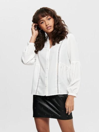 ONLY Bluza 'ONLEVA' u bijela, Prikaz modela