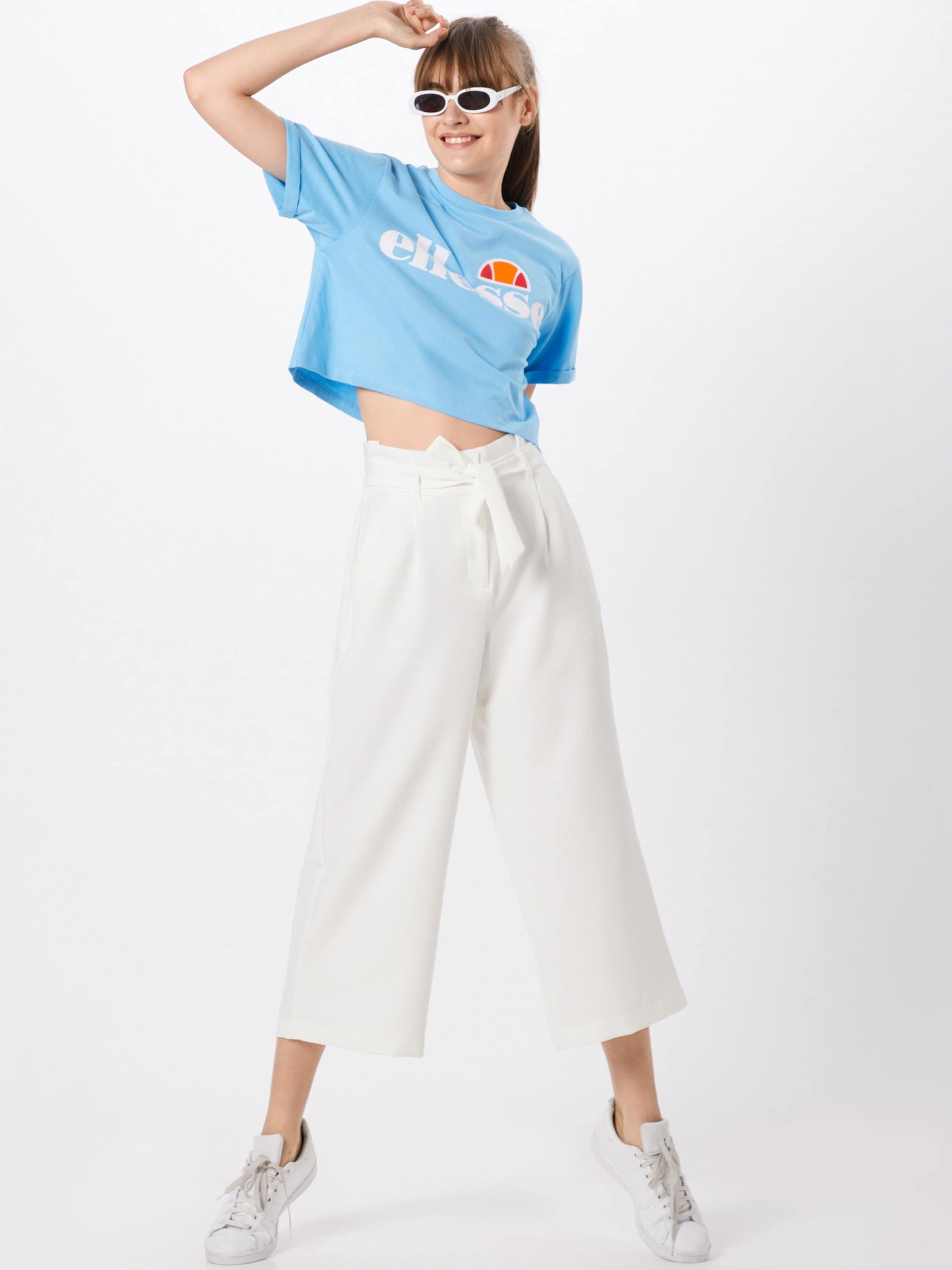 T Ellesse 'alberta' ClairBlanc shirt En Bleu 54A3RjLq