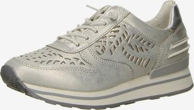 bugatti Schnürschuhe in silber, Produktansicht