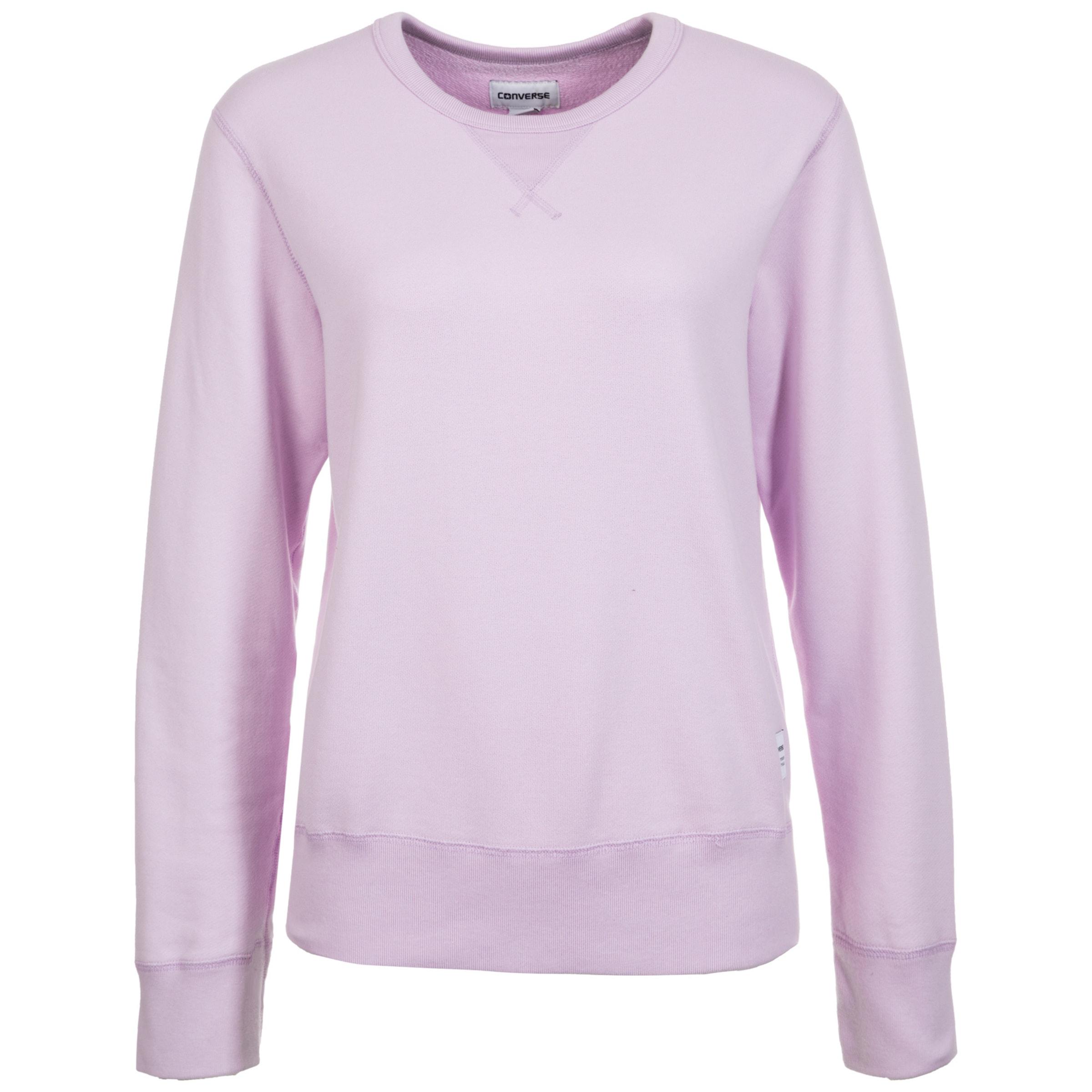 Crew' Lilas Converse En Sweat 'essentials shirt Y76gfvby