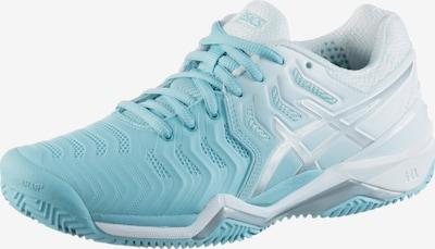 ASICS Tennisschuhe 'Resolution 7 Clay' in hellblau / weiß, Produktansicht