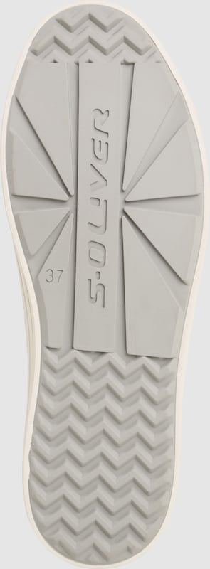 S.Oliver ROT LABEL LABEL LABEL | Sneaker mit seitlichem Zipper d5f0c6