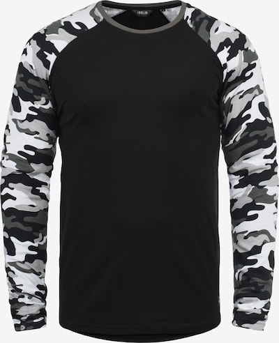 !Solid Rundhalsshirt 'Cajus' in schwarz, Produktansicht