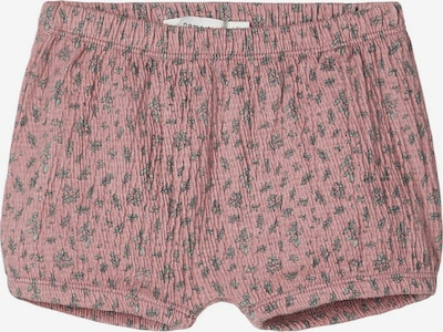 NAME IT Bloomersshorts in pastellgrün / altrosa: Frontalansicht