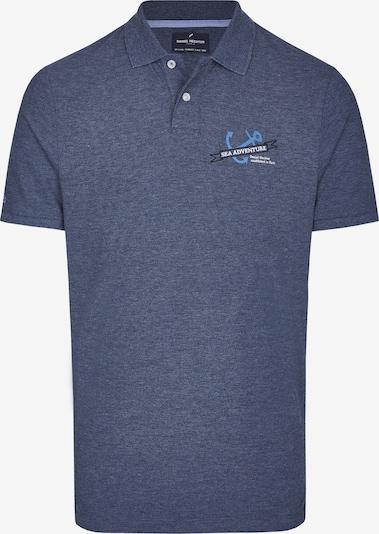 DANIEL HECHTER Shirt 'Maritimes' in navy / hellblau / weiß, Produktansicht