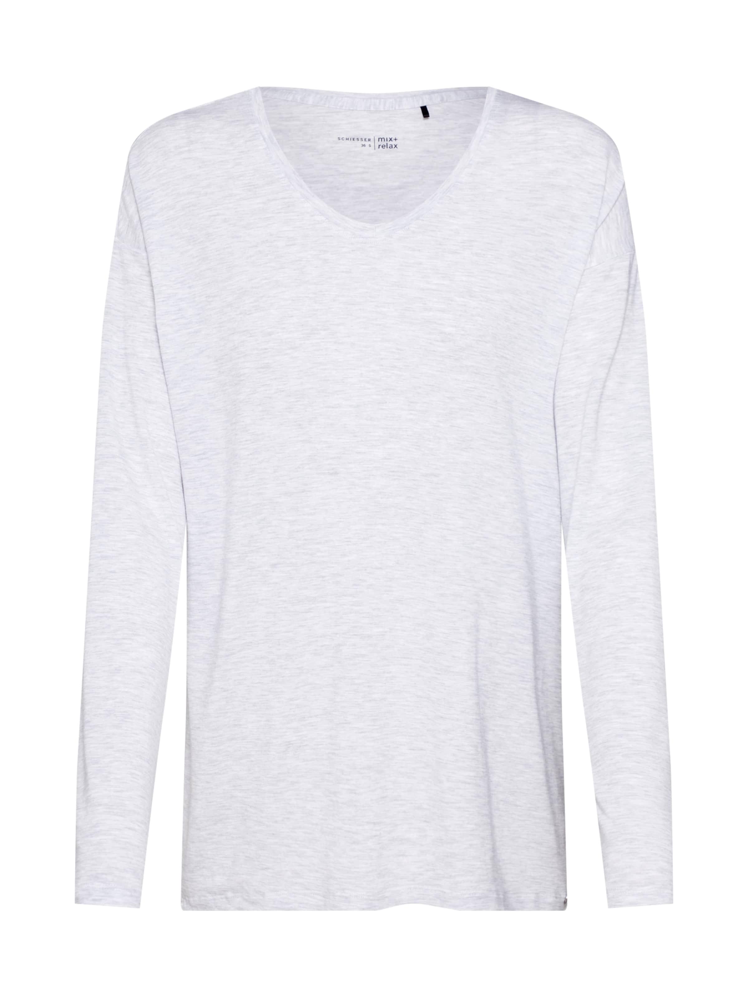 Graumeliert Shirt Schiesser Schiesser In Shirt L5jAq3R4