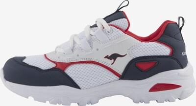 KangaROOS Sneaker in blau / weiß, Produktansicht