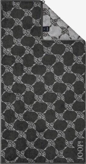 JOOP! Handtuch 'Cornflower 1672' in grau / graphit, Produktansicht