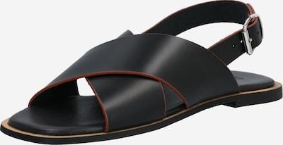 SHABBIES AMSTERDAM Sandale u žuta / crna, Pregled proizvoda