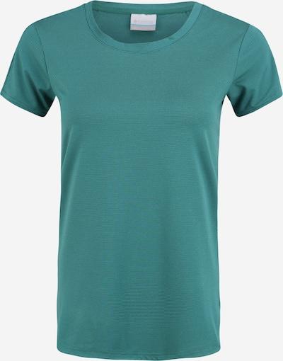 COLUMBIA T-shirt fonctionnel 'Firwood Camp™ II' en anthracite / émeraude, Vue avec produit