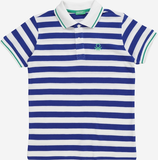 UNITED COLORS OF BENETTON T-Shirt en bleu / blanc, Vue avec produit