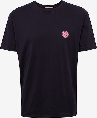 Nudie Jeans Co T-Shirt 'Uno NJCO Circle' in schwarz, Produktansicht