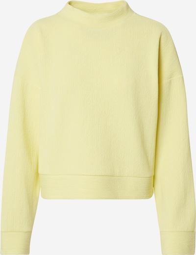 EDITED Sweatshirt 'Fidelia' in pastellgelb, Produktansicht