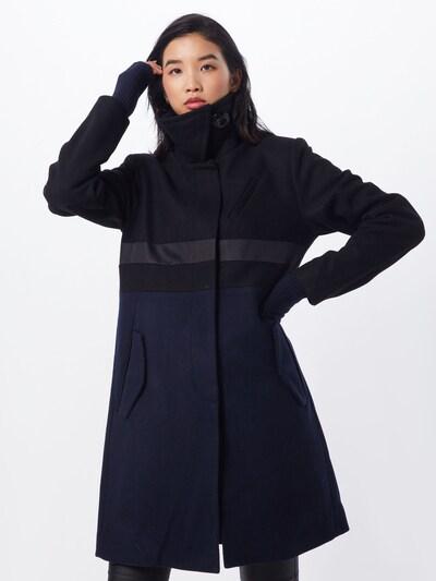 G-Star RAW Mantel in blau / schwarz, Modelansicht