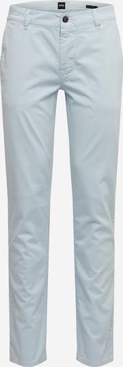 BOSS Pantalon chino en bleu, Vue avec produit