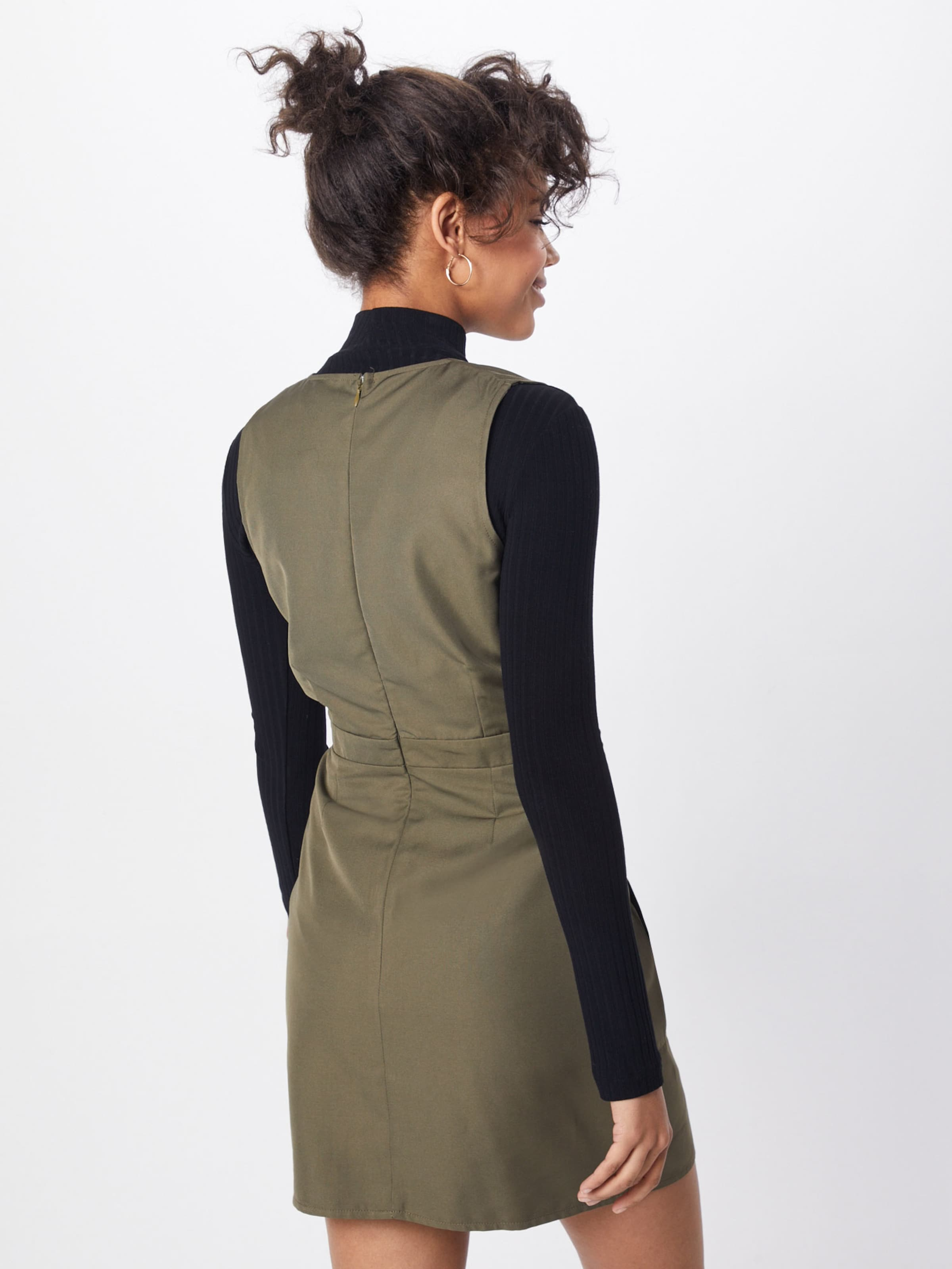 Missguided Utility Kleid In 'sleeveless Khaki Dress' qzSMVGUp