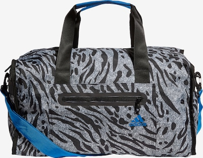 Sportinis krepšys iš ADIDAS PERFORMANCE , spalva - dangaus žydra / pilka / juoda, Prekių apžvalga