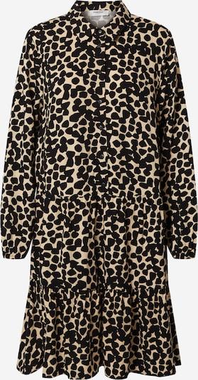 MOSS COPENHAGEN Robe-chemise 'Lauralee Raye' en beige / noir, Vue avec produit