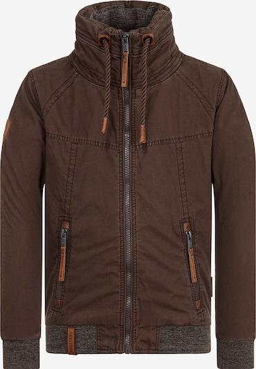 naketano Jacke in schoko / graumeliert, Produktansicht