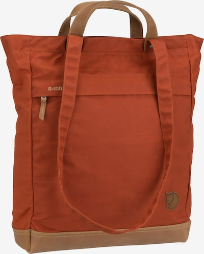 Fjällräven Shopper ' Totepack No.2 ' in orange, Produktansicht