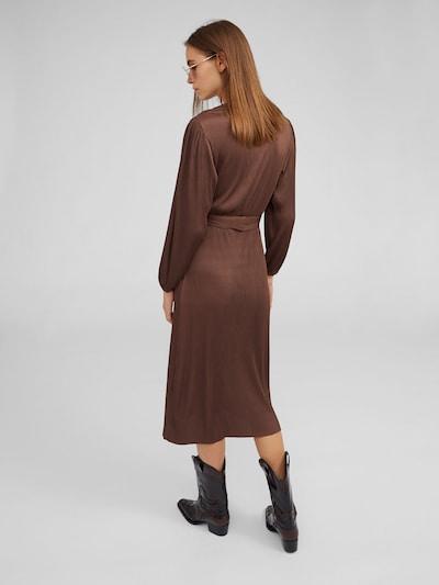 Kokteilinė suknelė 'Tasmin' iš EDITED , spalva - ruda: Vaizdas iš galinės pusės