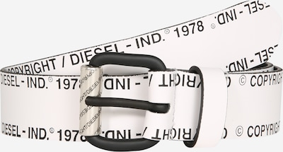 DIESEL Pasek 'B-Fulcopy' w kolorze czarny / białym, Podgląd produktu