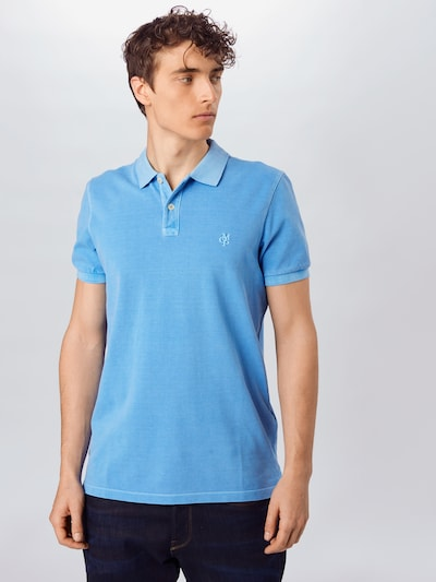 Marc O'Polo Poloshirt in azur: Frontalansicht