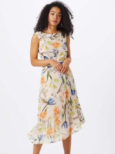COMMA Kleid in creme / mischfarben, Modelansicht