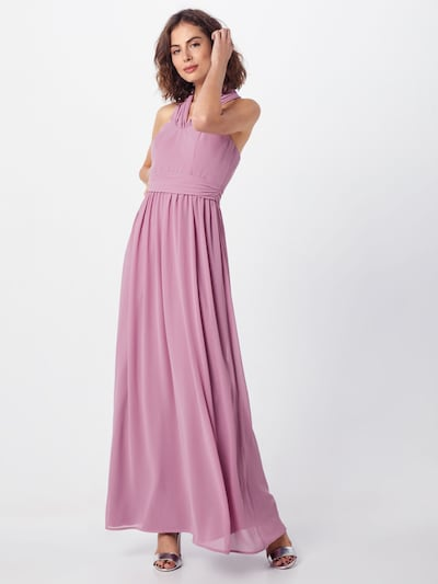 Chi Chi London Kleid 'ELINA' in mauve: Frontalansicht