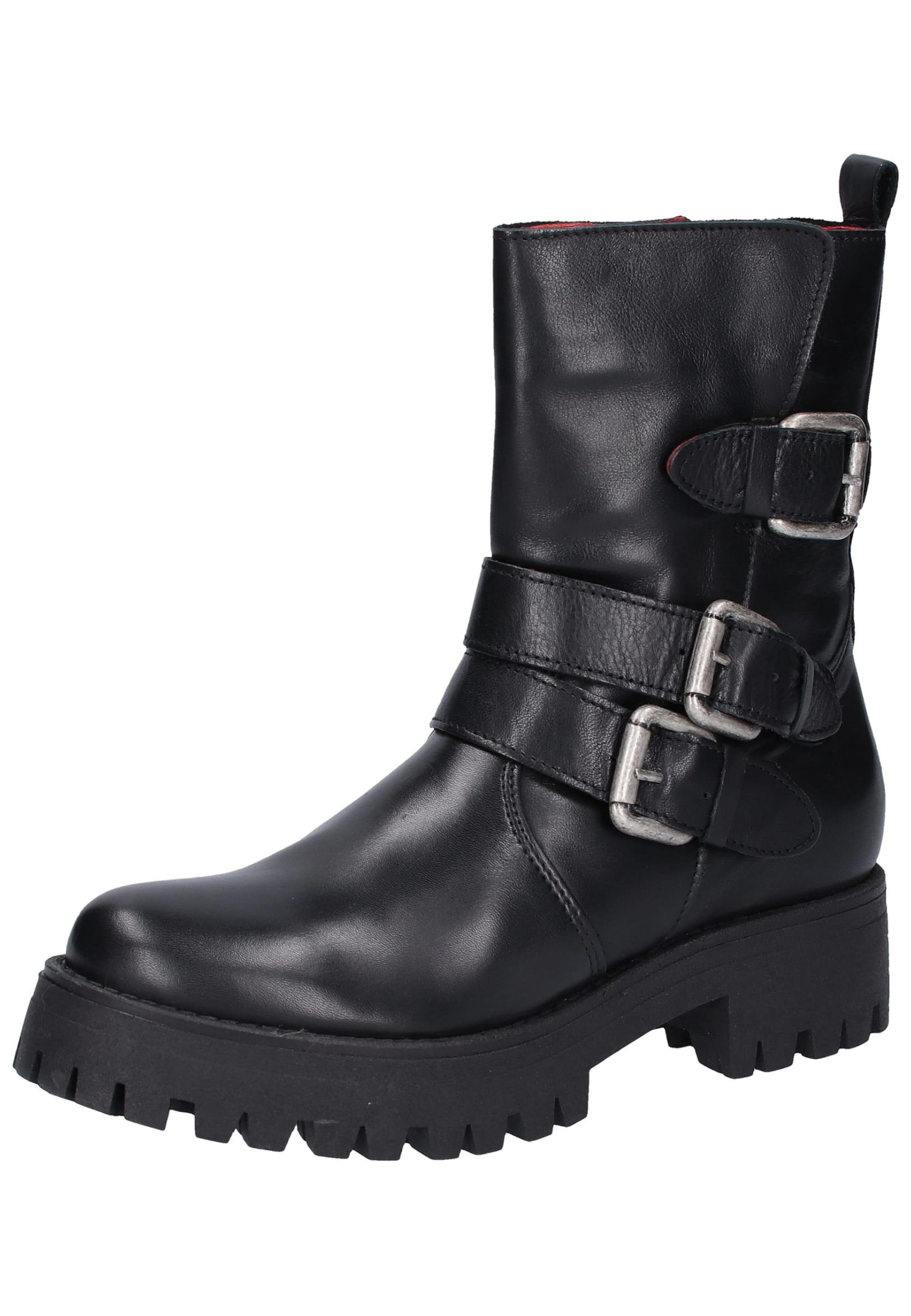 Buffalo Buffalo En Boots Noir Boots kXiTOZPu