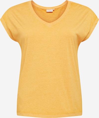 ONLY Carmakoma T-shirt 'Noizy' en moutarde, Vue avec produit