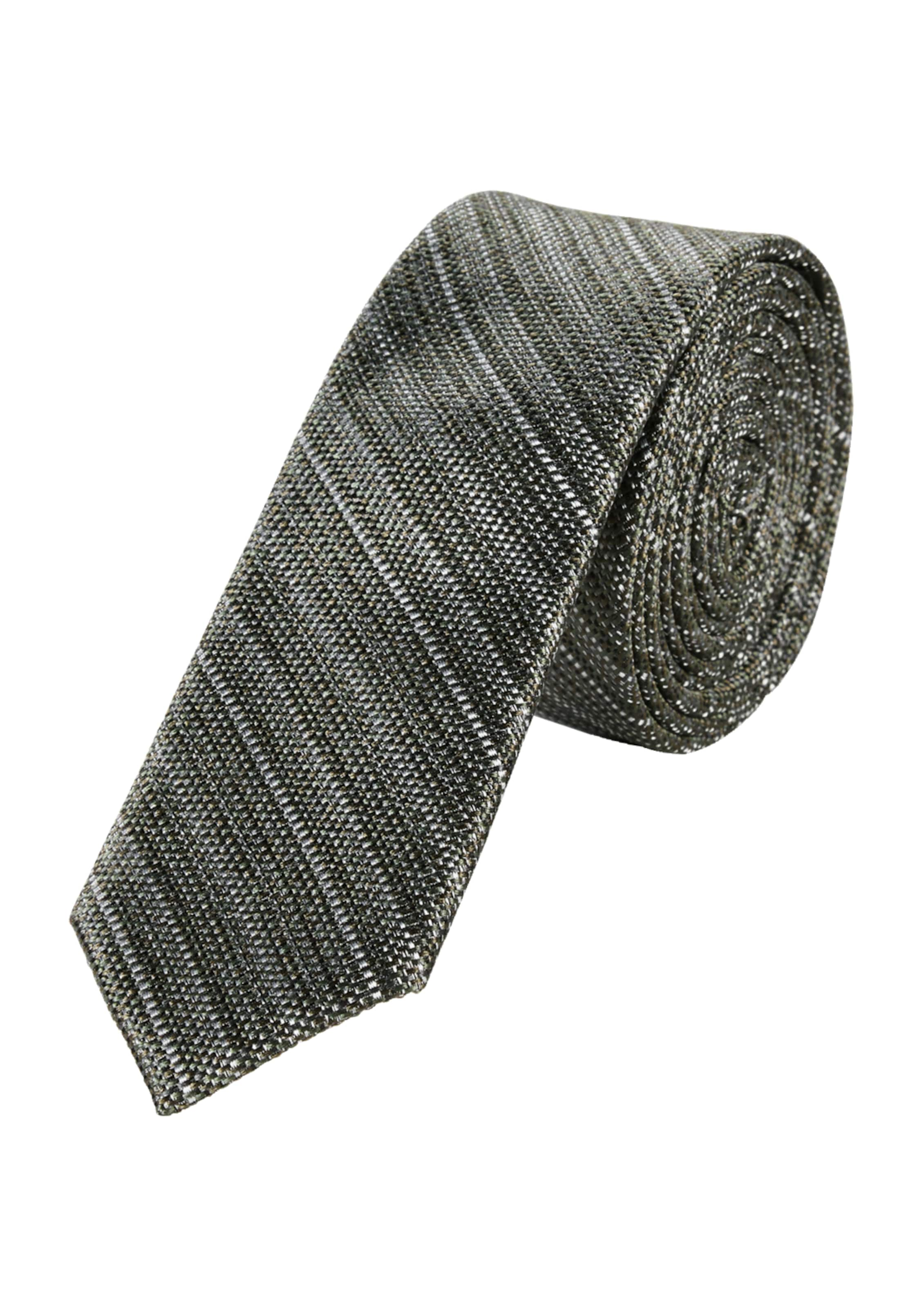 In oliver Black S GrünKhaki Label Krawatte pSMVqUz