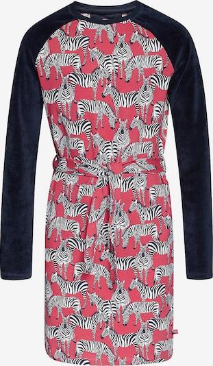 WE Fashion Kleid in navy / rosa / schwarz / weiß, Produktansicht