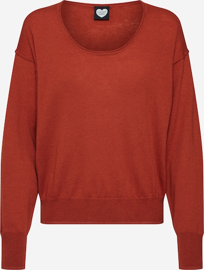 CATWALK JUNKIE Pullover 'Indy' in rostbraun / rostrot / orangerot, Produktansicht