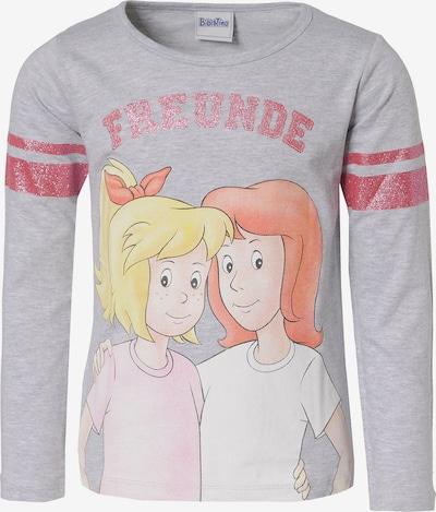 Bibi und Tina Langarmshirt in grau / mischfarben, Produktansicht