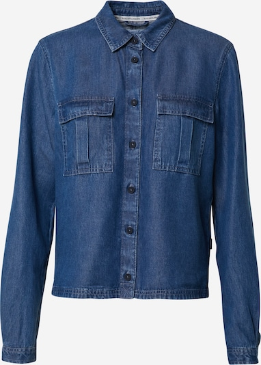 Marc O'Polo DENIM Bluse in blue denim, Produktansicht